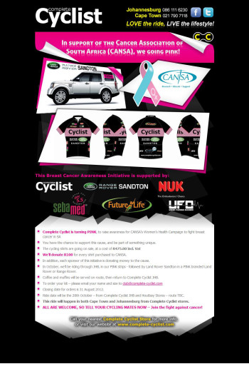 Complete Cyclist Event Poster