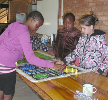 Children attending the CANSA TLC Youth Camp