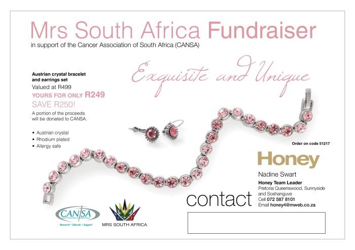 Mrs RSA CANSA Fundraiser
