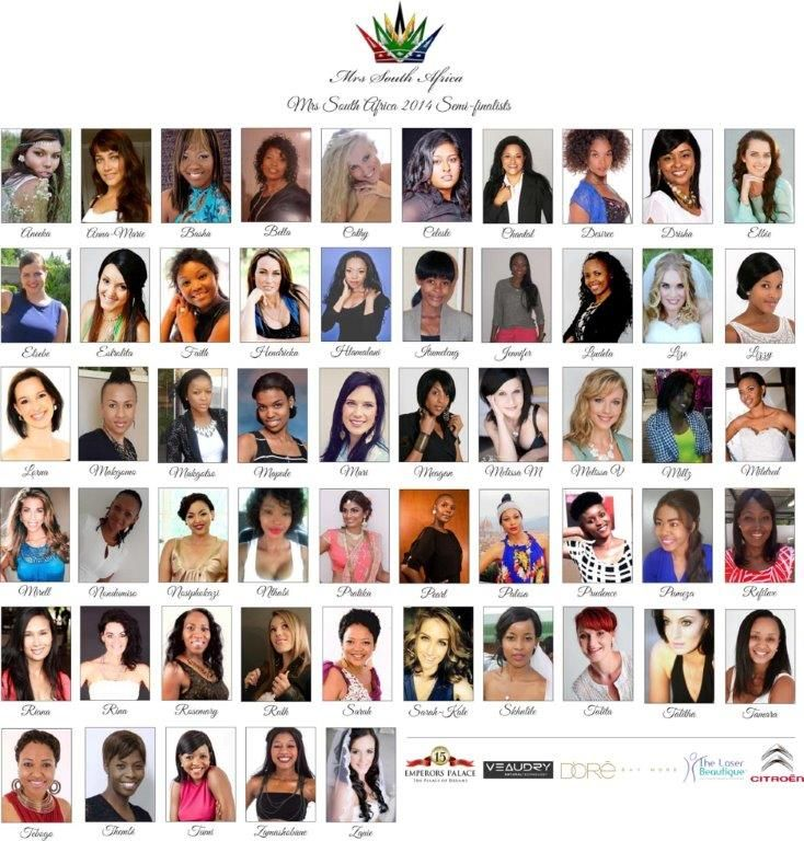 Mrs SA Semi-Finalists
