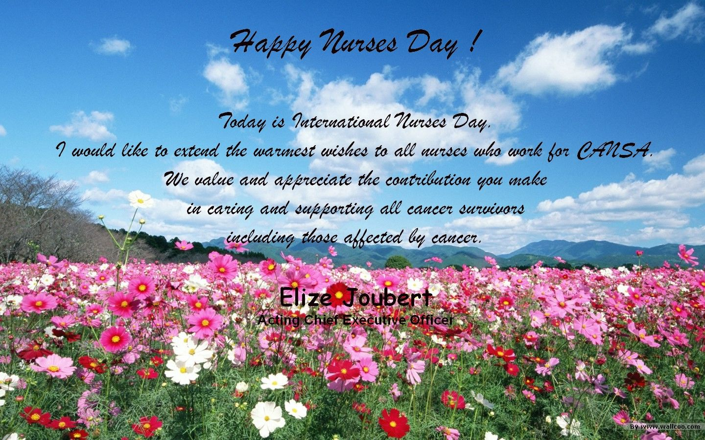 Nurses Day Greetings 2014