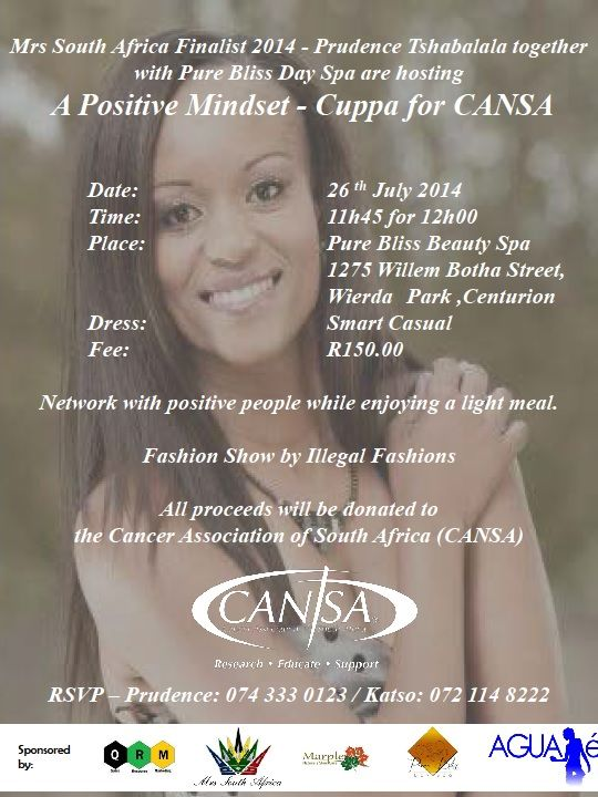 Cuppa For CANSA Invite - Prudence