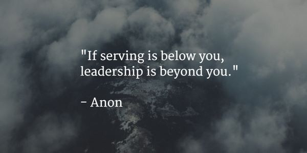 Serving & Leadership