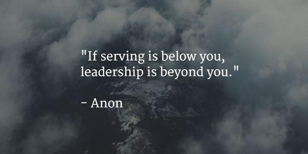 Serving & Leadership