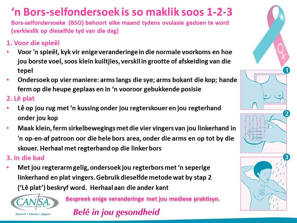 Bors Self Ondersoek -Stap-vir-Stap