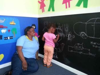 Jessica* and Thandi* TLC Kimberley