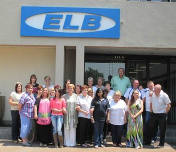 Staff from ELB Equipment supporting CANSA: Karen Schreuder, Mariana Buys, Candice Serfontein, Nancey Dickson, Athelia Hattingh, Tracy Cass, Ronelle Fenton, Ruwaida Terblanche, Tania Opperman, Brenda Bekker, Kogie Pillay, Rita Otten, Carol  Forsyth, Michael Serfontein, Es Van Zijl, Pat White, Keith Smith, Marg Oelofse, Janita Grobbelaar, Sandra Ford, Lawrence Peters, Les Wilkinson, Dalene Wood, Mettie Opperman, Pat Bezuidenhout, Michelle Ebersohn, Izak Wentsel, Kimberely MachLaughlin, Juan-dre' Opperman, Candice's sister & mother