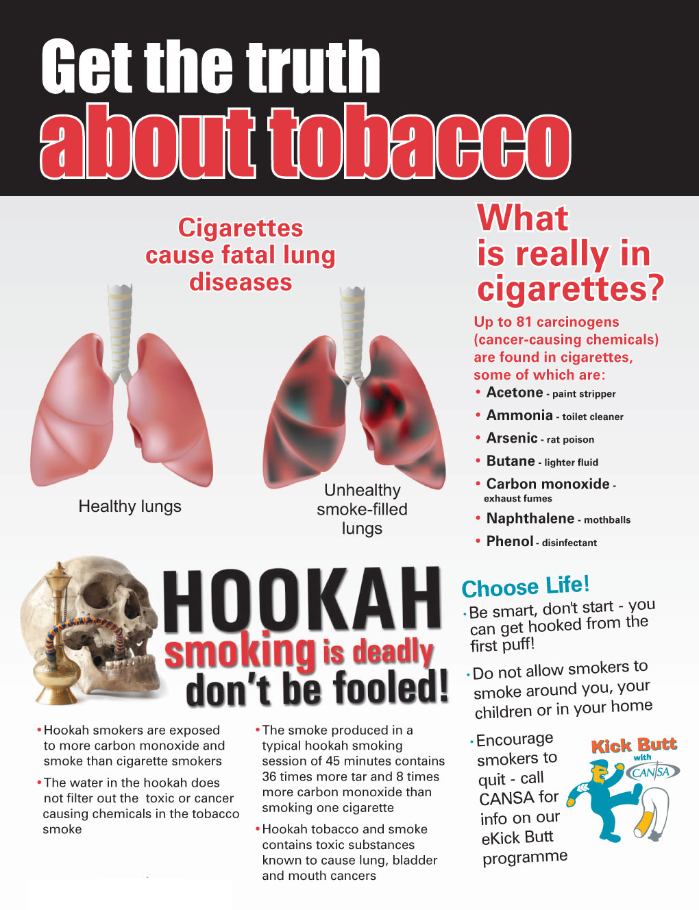 Get the truth about tobacco