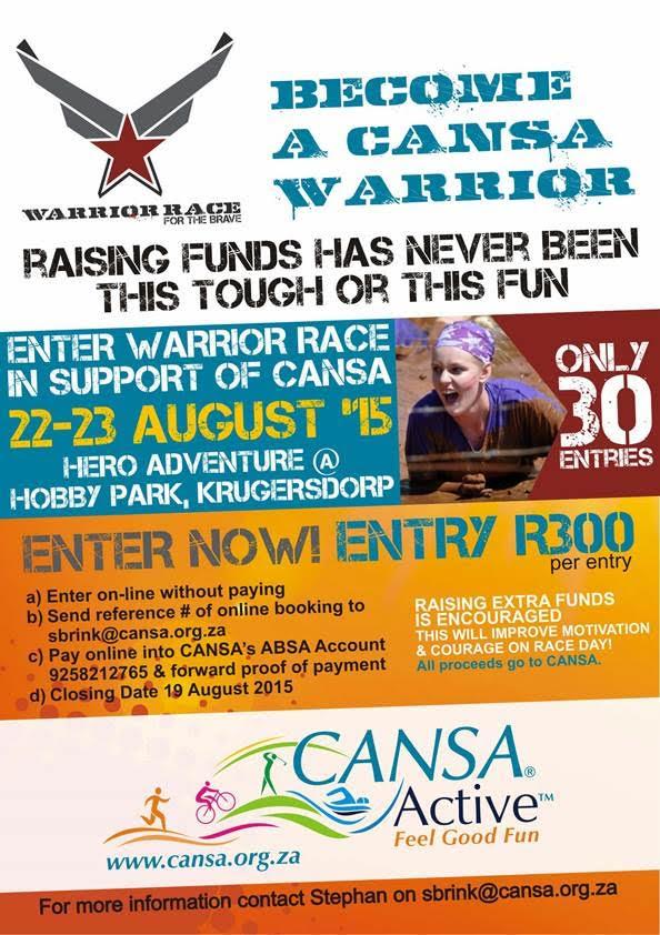 Warrior Race Krugersdorp