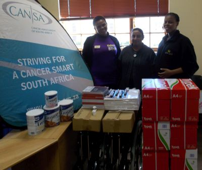 Donation CANSA Newcastle