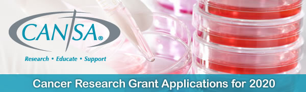 Cancer Research Grant Applications for 2020 | CANSA - The Cancer