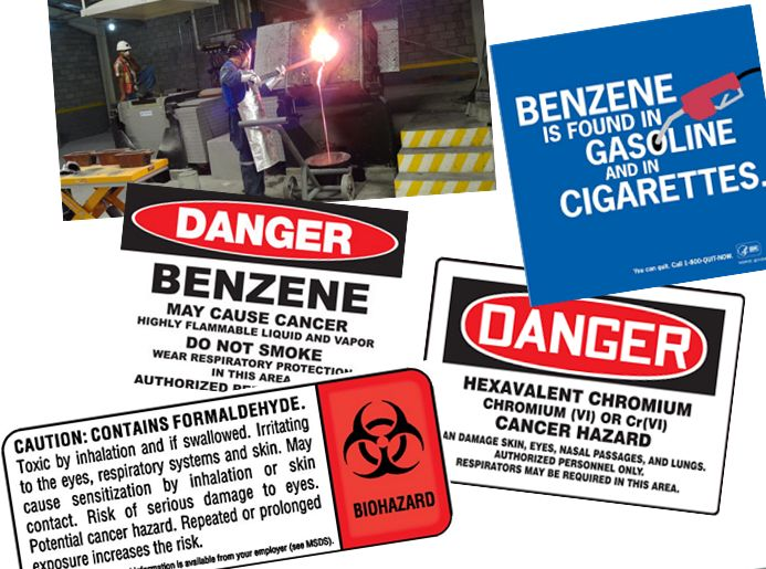 Environmental Carcinogens Workplace