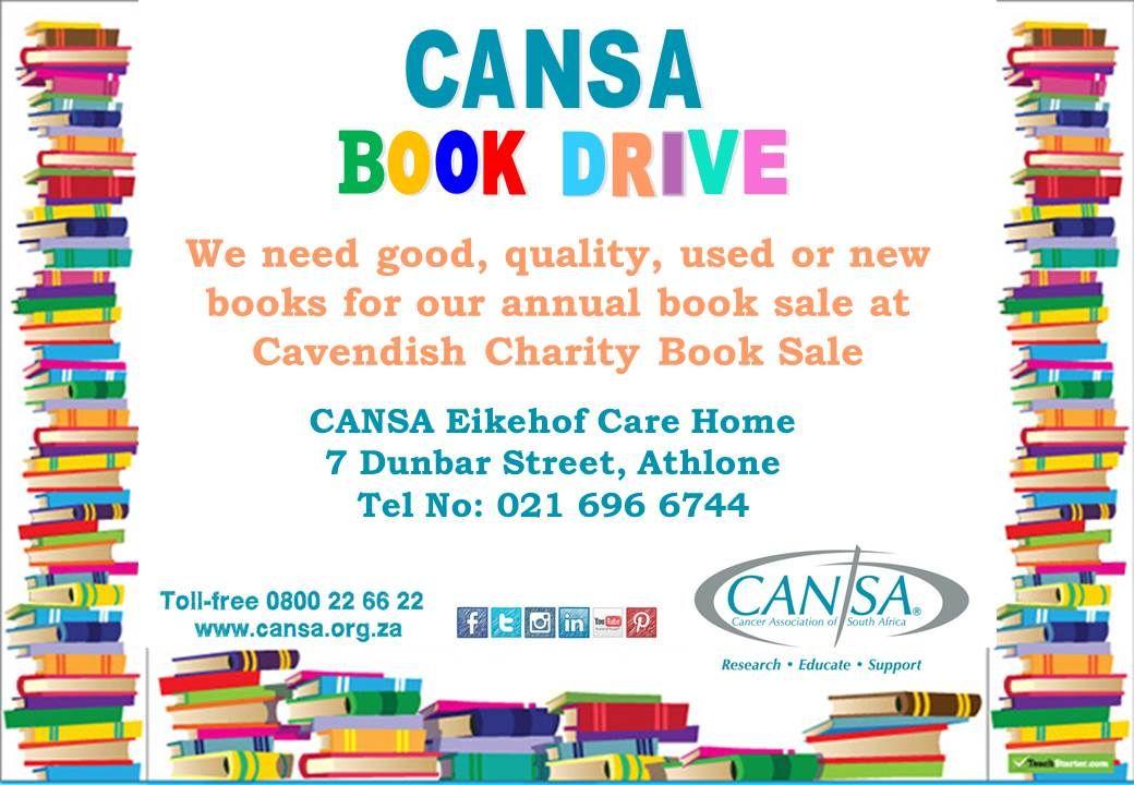 CANSA Book Drive
