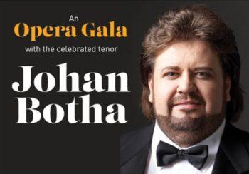 Johan Botha Opera Gala series