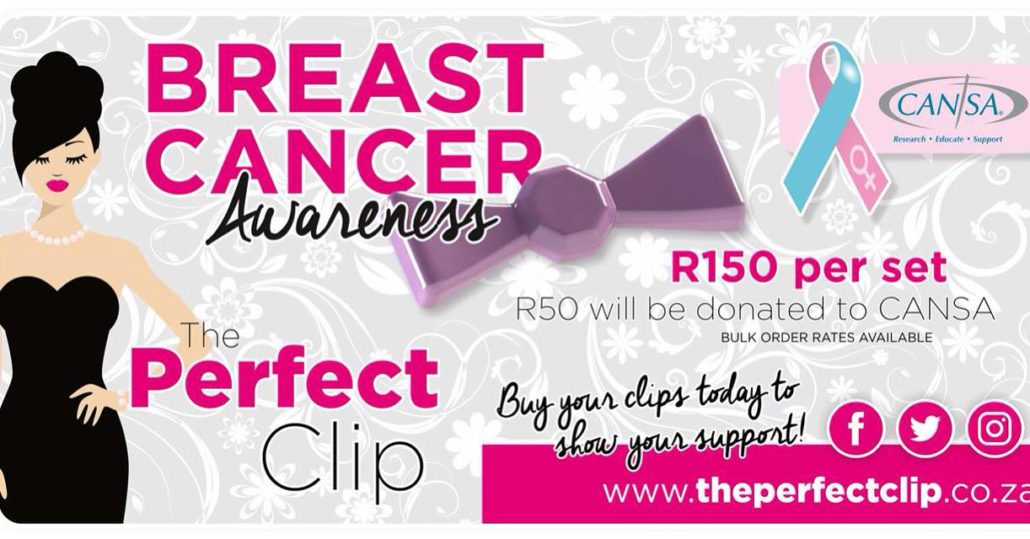 The Perfect Clip supports CANSA Women's Health