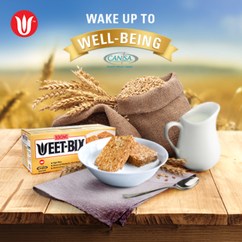 WIN a year of well-being with WEET-BIX + CANSA