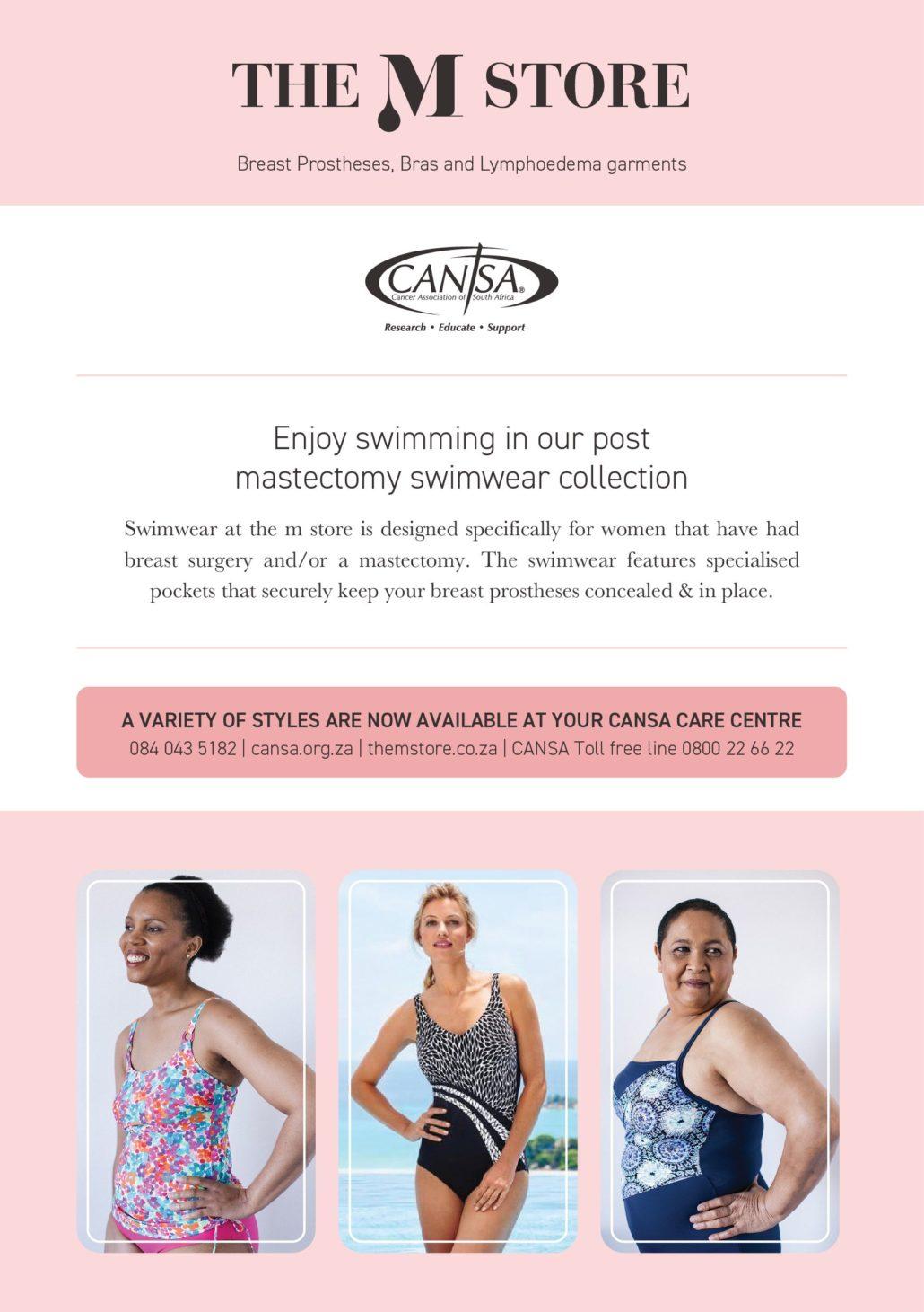 m store & cansa partnership restoring femininity, confidence