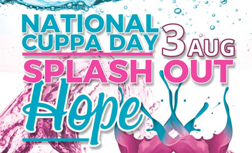 National Cuppa For CANSA Day 3 August 2018