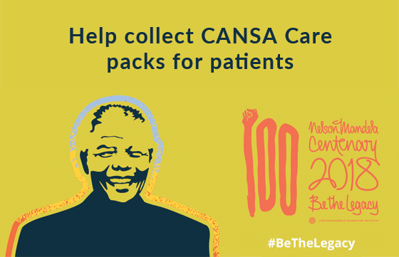 Help collect CANSA Care packs for patients