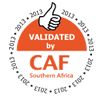 Validated by CAF