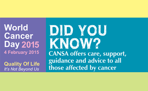 World Cancer Day & CANSA