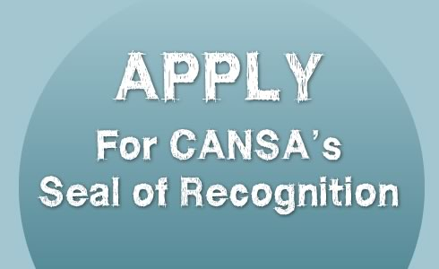 Apply for CANSA's Seal of Recognition
