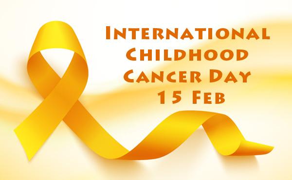 International Childhood Cancer Day 15 Feb