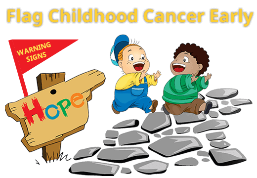 Flag Childhood Cancer Early