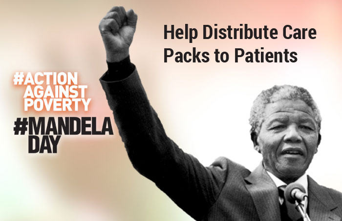 Help Distribute Care Packs to Patients on Mandela Day