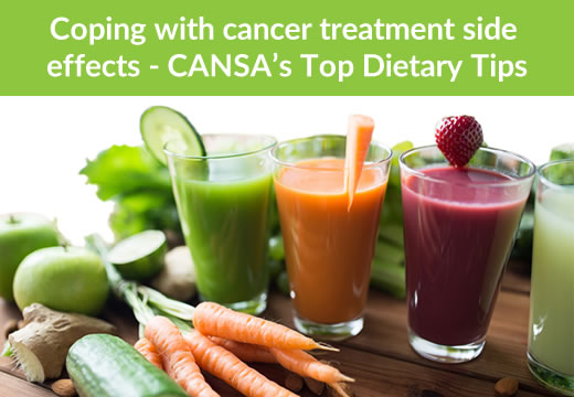 Cancer diet coping tips